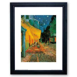 Stampa incorniciata Cafè at night 35 x 45 cm
