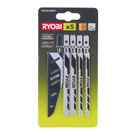 Set lame per seghetto alternativo Ryobi RAK05JSBC