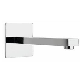 Bocca di erogazione lavabo Squadrata 17.7 cm cromato