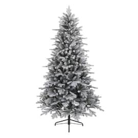 Albero di Natale artificiale Cervino Frost H 210 cm