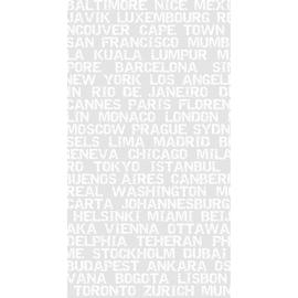 Tenda doccia City bianca L 240 x H 200 cm