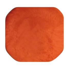 Portabiancheria Cuscino componibile quadro microfibra arancio