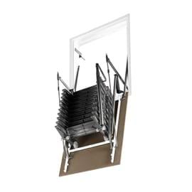 Scala retrattile Aci Alluminio Parete Verticale 70 x 120 cm