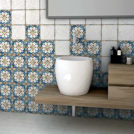 Piastrella Agadir 20 x 20 cm bianco