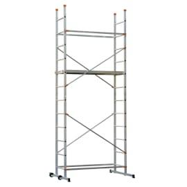 Trabattello Dexter Easy Clip 4 in alluminio, per lavori fino a 3,9 m
