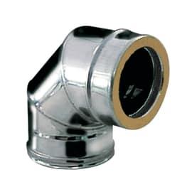 Curva a settori coibentato acciaio inox AISI 316L