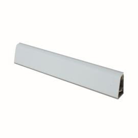 Alzatina su misura Travertino alluminio grigio H 3 cm