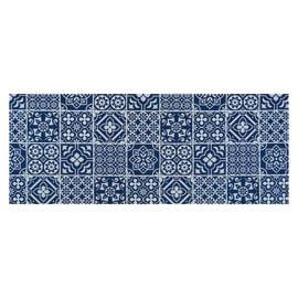 Passatoia al taglio Surf Full Azulejo blu 55 cm