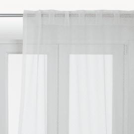 Tenda Dafne bianco 140 x 290 cm