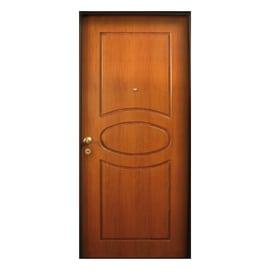 Porta blindata Gold noce L 80 x H 210 cm dx