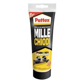 Colla di montaggio e fissaggio effetto chiodo Millechiodi Forte&Rapido Pattex bianco 250 g