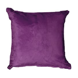 Cuscino Suedine viola 50 x 50 cm