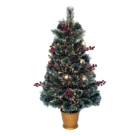 Alberello di Natale da appoggio H 90 cm
