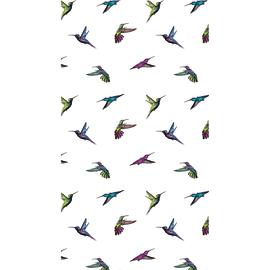 Tenda doccia Colibrì multicolor L 180 x H 200 cm