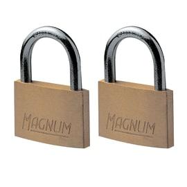 2 luchetti rettangolari a chiave arco standard 40 mm