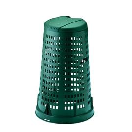 Trespolo con coperchio verde satinato 100 L