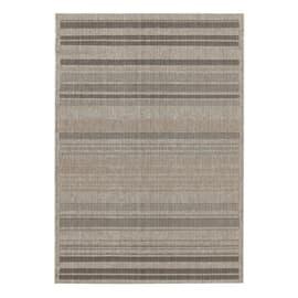 Tappeto Veranda stripes grigio 160 x 230 cm