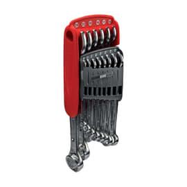 Set 14 chiavi combinate con supporto