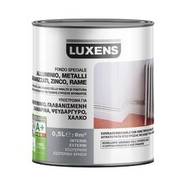 Fondo Luxens per alluminio galvanizzato e lamiere zincate grigio 0,5 L