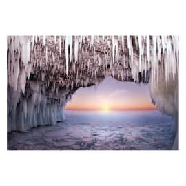 Poster Grotta di ghiaccio 91,5 x 61 cm