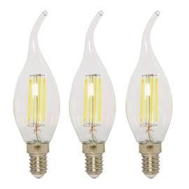 3 lampadine LED Lexman E14 =40W luce fredda 360°