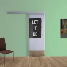 Porta da interno scorrevole Let It Be 88 x H 215 cm sx