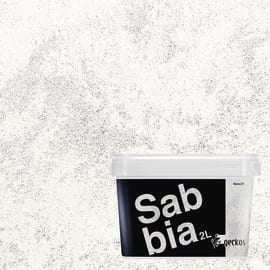 Pittura ad effetto decorativo Sabbiato bianco 01 2 L