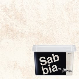 Pittura ad effetto decorativo Sabbiato bianco 02 2 L