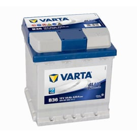 Batteria Varta per auto, 44 Ah, Blue Dynamic B36 Cubetto, 12 V