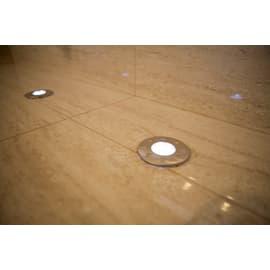 Faretto incasso per esterno a pavimento Salice LED Ø 8,5 cm IP66