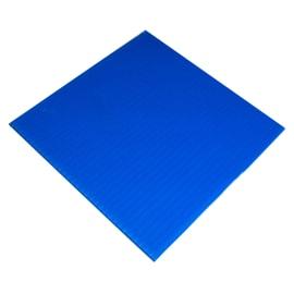 Lastra polionda azzurro 2000 x 1000  mm, spessore 2,5 mm