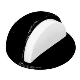 Fermaporta adesivo nero