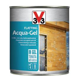 Flatting ad acqua V33 Acqua-Gel incolore brillante 0,75 L