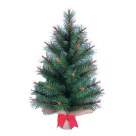 Alberello di Natale da appoggio Haminton H 60 cm