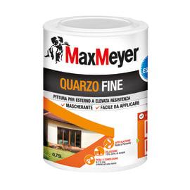 Pittura al quarzo per esterno Max Meyer bianco 0,75 L
