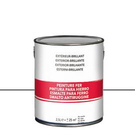 Smalto per ferro antiruggine bianco brillante 2,5 L