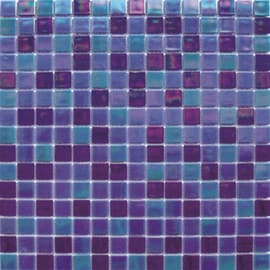Mosaico Reflex mix 32,7 x 32,7 cm blu