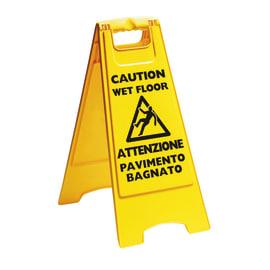 Cartello pavimento bagnato Apex plastica