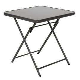 Tavolo pieghevole Denver, 70 x 70 cm grigio antracite