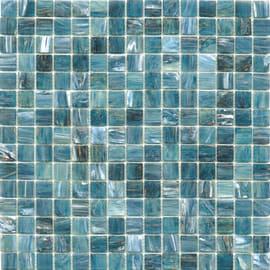 Mosaico Gold 32,7 x 32,7 cm blu