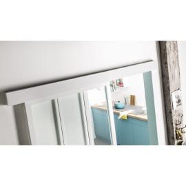 Binario scorrevole Atelier 196 cm bianco in alluminio, per anta di larghezza massima 96 cm