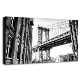 quadro su tela Brooklyn 60x90