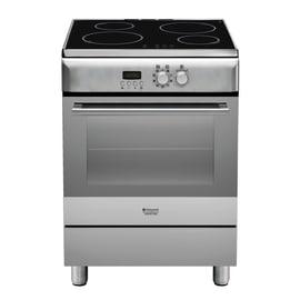 Cucina freestanding elettronica sottomanopola Hotpoint H6IMAAC (X)