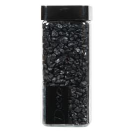 Sassi vetro decorativi nero 0,8 g