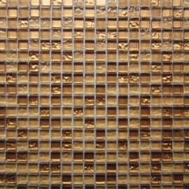 Mosaico Dark gold 30,1 x 30,1 cm oro