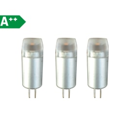 3 lampadine LED Lexman G4 =20W luce fredda 300°