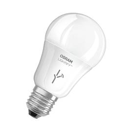 Lampadina smart LED Osram E27 =60W goccia luce CCT