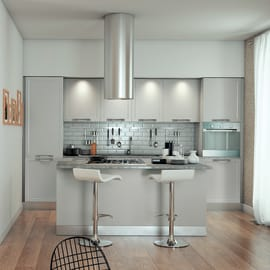 Cucina Delinia Newport grigio
