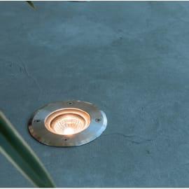 Faretto incasso per esterno a pavimento 93010 LED Ø 8 cm IP67