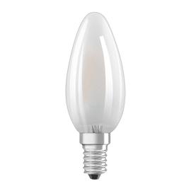 Lampadina LED Osram E14 =40W oliva luce naturale 300°